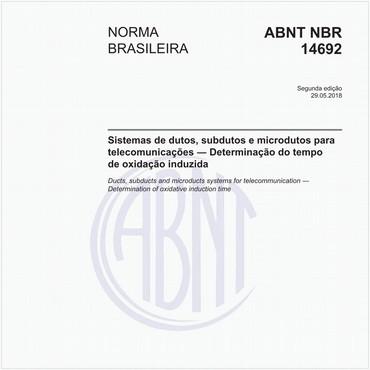 NBR14692 de 05/2018