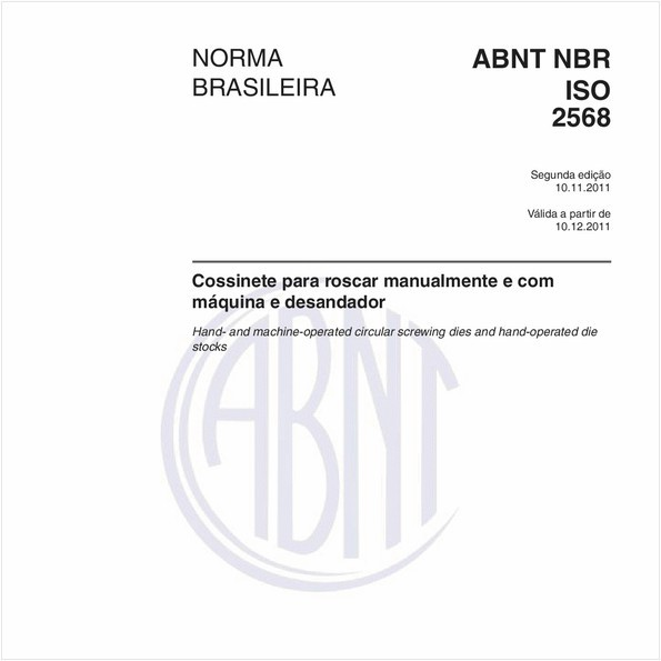 NBRISO2568 de 11/2011