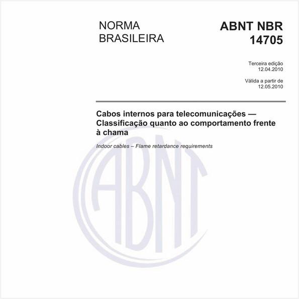 NBR14705 de 04/2010