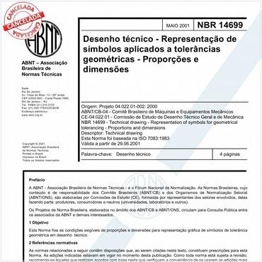 NBR14699 de 05/2001