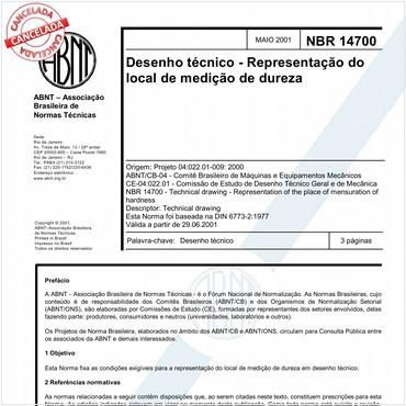 NBR14700 de 05/2001