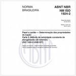 NBRNM-ISO1924-2