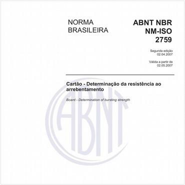 NBRNM-ISO2759 de 04/2007