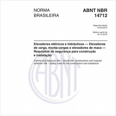 NBR14712 de 09/2013