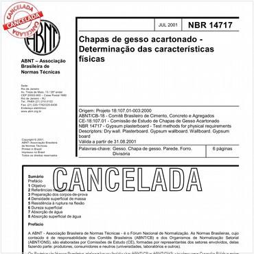 NBR14717 de 07/2001