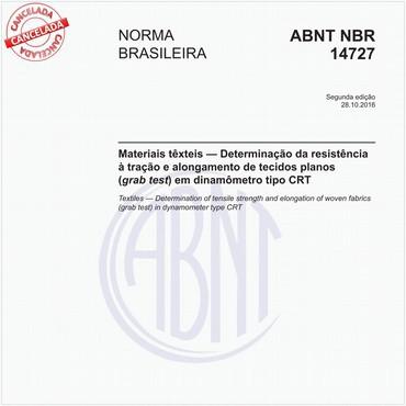 NBR14727 de 10/2016