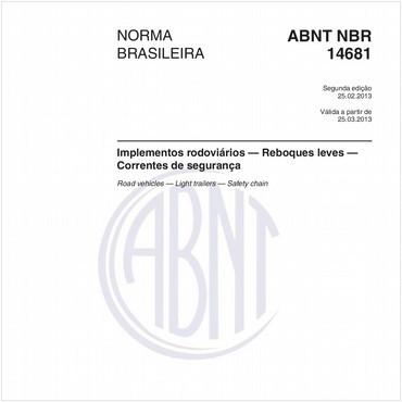 NBR14681 de 02/2013