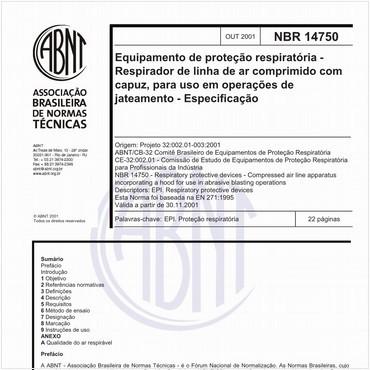 NBR14750 de 10/2001