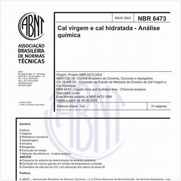 NBR6473 de 05/2003