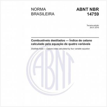 NBR14759 de 01/2016