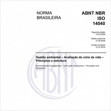 NBRISO14040 de 05/2009