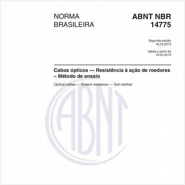 NBR14775 de 03/2013
