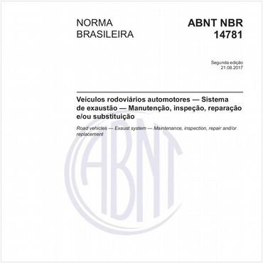 NBR14781 de 08/2017