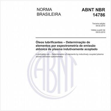 NBR14786 de 02/2010