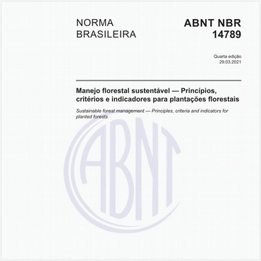 NBR14789 de 11/2012