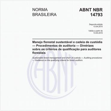 NBR14793 de 04/2015
