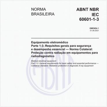 NBRIEC60601-1-3 de 07/2016