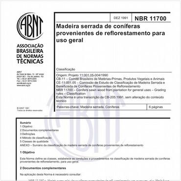NBR11700 de 12/1991