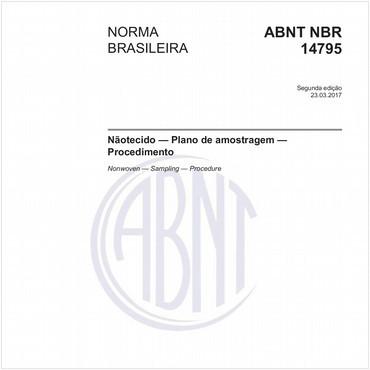 NBR14795 de 03/2017