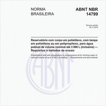 NBR14799 de 11/2018