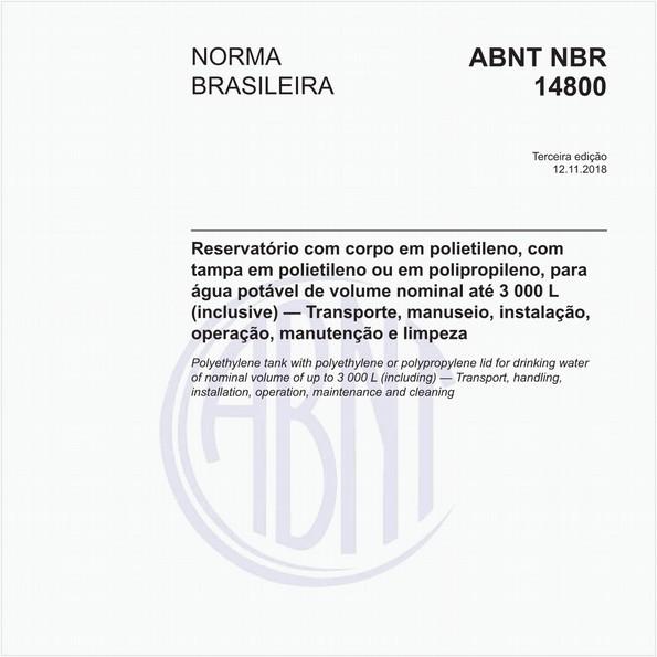 NBR14800 de 11/2018