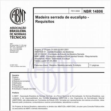 NBR14806 de 02/2002