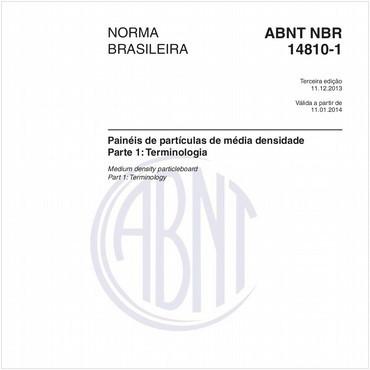 NBR14810-1 de 12/2013