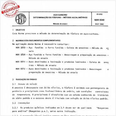 NBR6340 de 10/1982