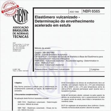 NBR6565 de 08/1982