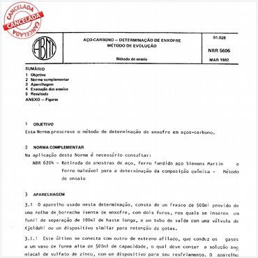 NBR5606 de 03/1982