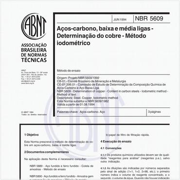 NBR5609 de 06/1994
