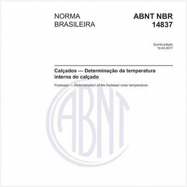 NBR14837 de 04/2017
