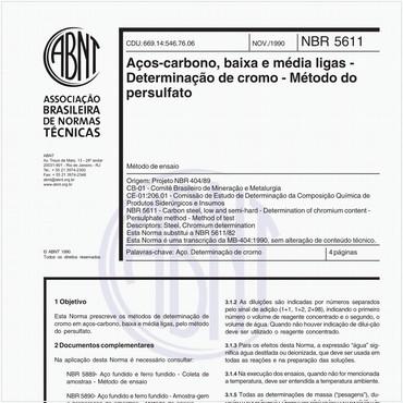 NBR5611 de 11/1990