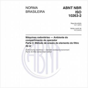 NBRISO10263-2 de 11/2010