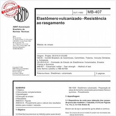 NBR11911 de 10/1990