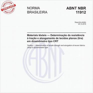 NBR11912 de 10/2016