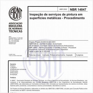 NBR14847 de 04/2002