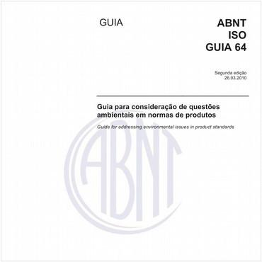 ABNT ISO GUIA64 de 03/2010