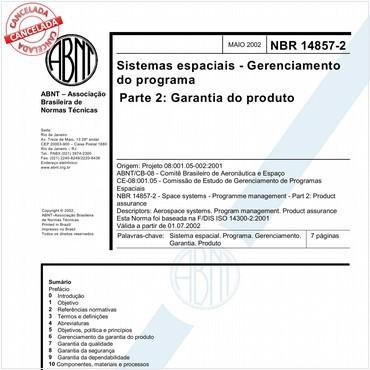 NBR14857-2 de 05/2002