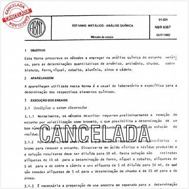 NBR6367 de 10/1982