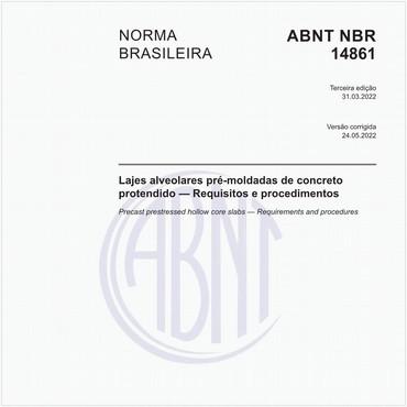 NBR14861 de 10/2011