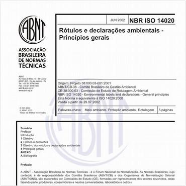 NBRISO14020 de 06/2002