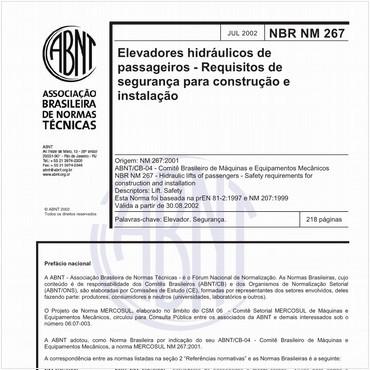 NBRNM267 de 07/2002