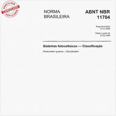 NBR11704 de 01/2008