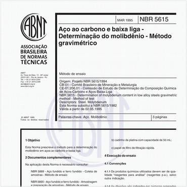 NBR5615 de 03/1995