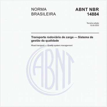NBR14884 de 05/2006