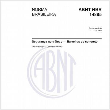 NBR14885 de 05/2016