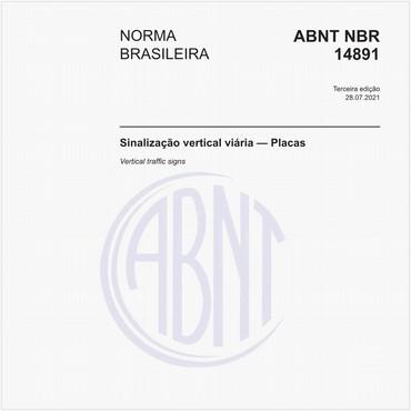 NBR14891 de 07/2012