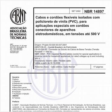 NBR14897 de 09/2002