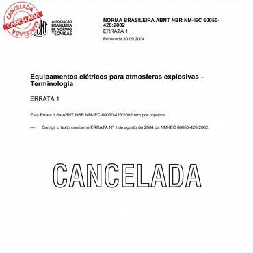 NBRNM-IEC60050-426 de 09/2002